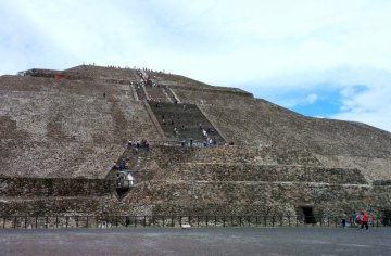 Climbing Pyramid of The Moon