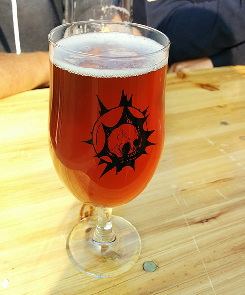 Beavertown Brewery - Stingy Jack Spiced Pumpkin Ale - deelish!