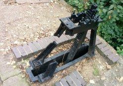 Middlesex filter beds - defunct sluice winding mechanism