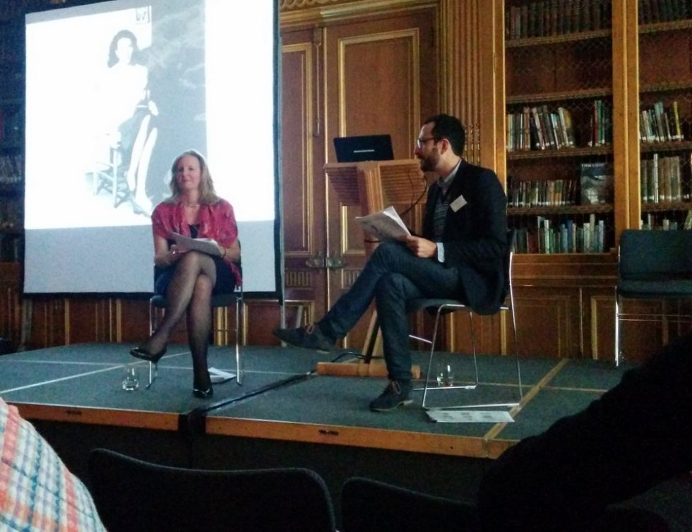 Francesco Manacorda and Joanna Moorhead in conversation at 'Edward James in Mexico' symposium