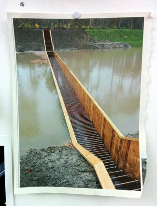 RO & AD Architects: Moses Bridge, Netherlands