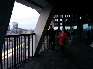 Switch House viewing level balcony