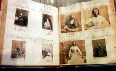 Photographs of Sarah Forbes Bonetta (Queen Victoria's goddaughter also known as 'Mrs Davies') by Camille Silvy
