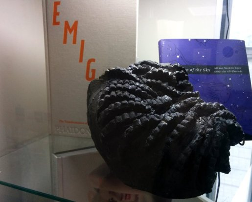 'Cloud' ceramics; black clay & glaze