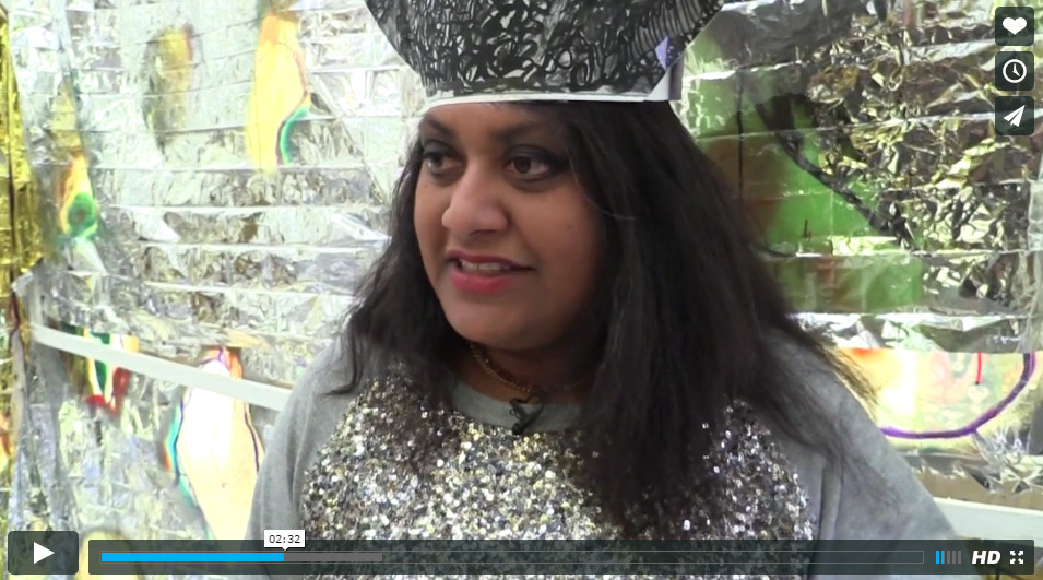 Chudamani Clowes, interview, Griffin Gallery, London