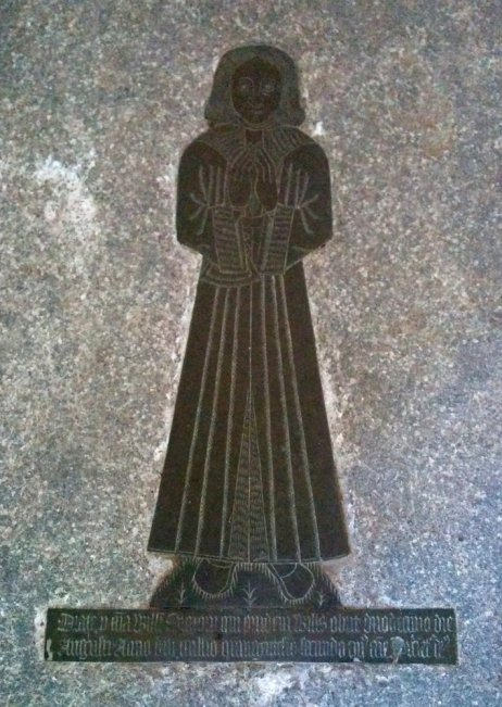 Norman (?) brasses St Mary in the Marsh