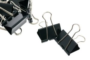 hack your workspace binder clips