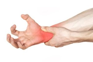 Carpal Tunnel Syndrome Pain in Hand Wrist Grab