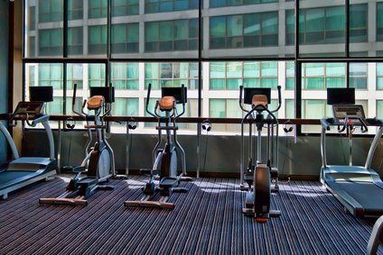 on-site exercise employee productivity