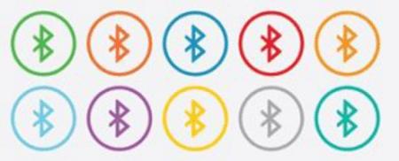Bluetooth icons