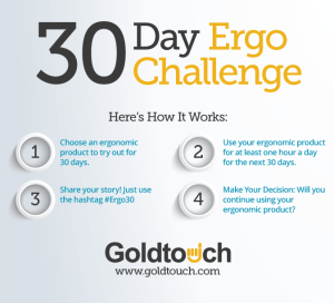 30 Day Challenge Goldtouch Ergonomics Culture