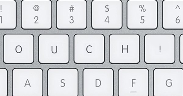 Ouch Keyboard