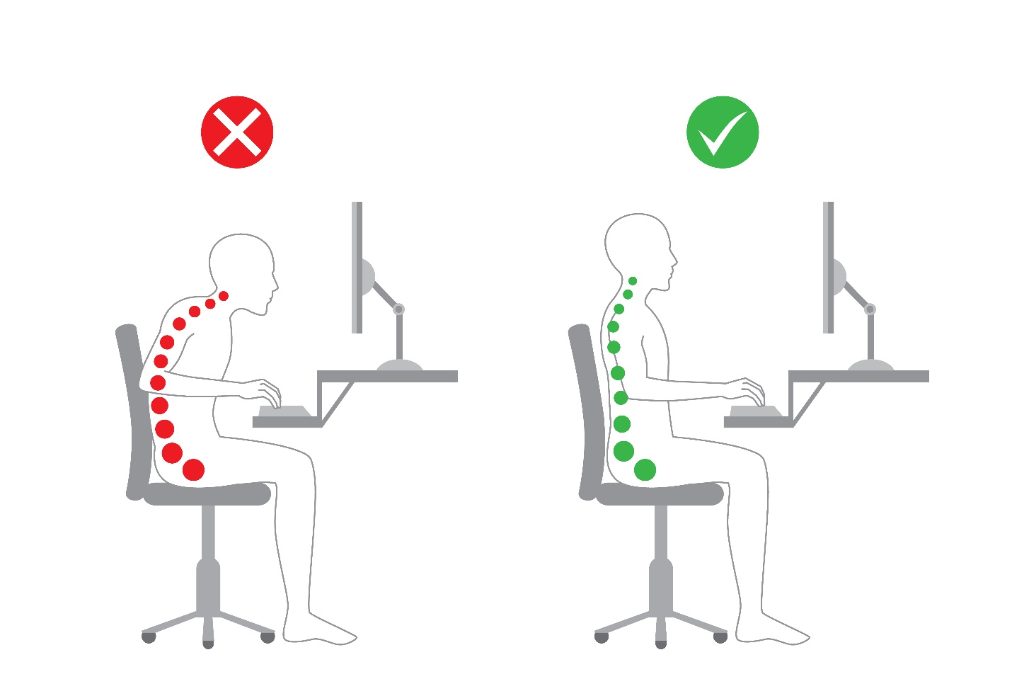 Keeping Good Posture At Work
