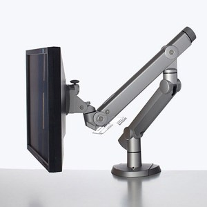 sleek looking monitor arm