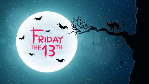 Friday the 13th cartoon image