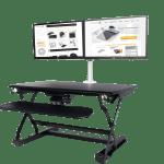 Easylift Desk Adjustable Standing Desk Elevates Productivity In Office