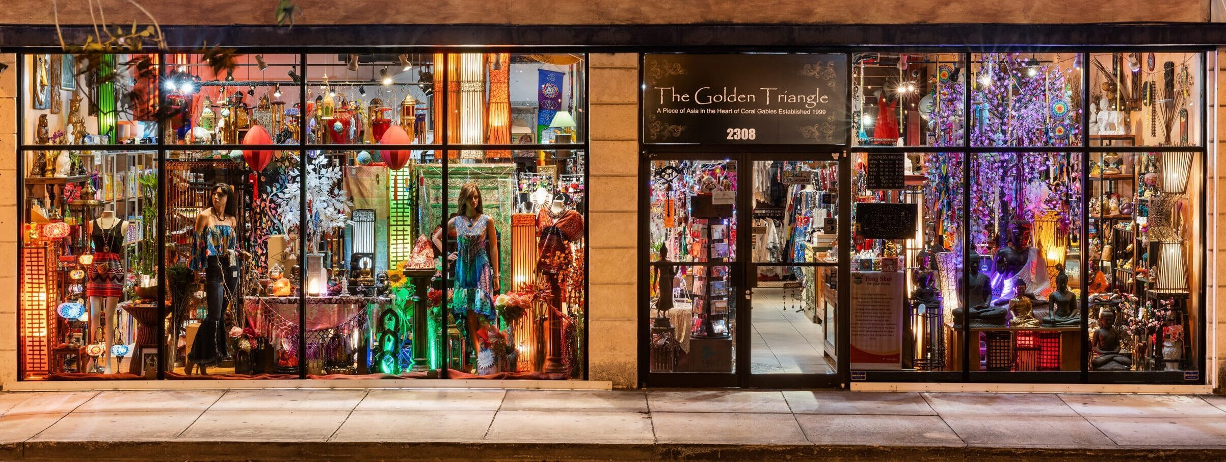 Storefront The Golden Triangle Store