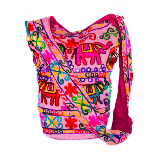 Cross Body Bag Elephant in Pink