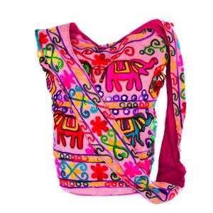 Cross Body Bag Elephant in Pink