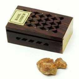 Amber Resin & Rock Perfume