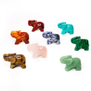 Good Luck Gemstone Elephant (8)