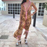 Women Beach Evening Summer Halter Maxi Dresses Free Size - 10208