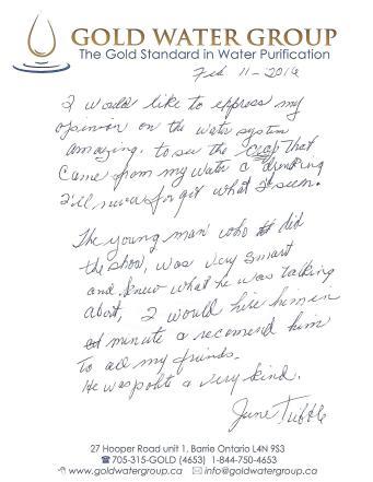 June Tribble Testimonial