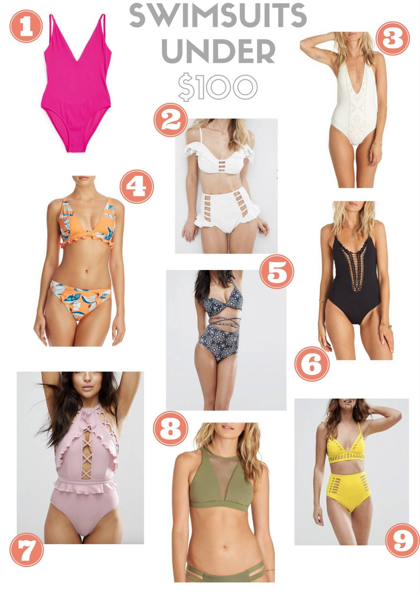 fdfaed2175e83 Non-Goodwill Gold  Swimsuits Under  100 - Goldwill Digger