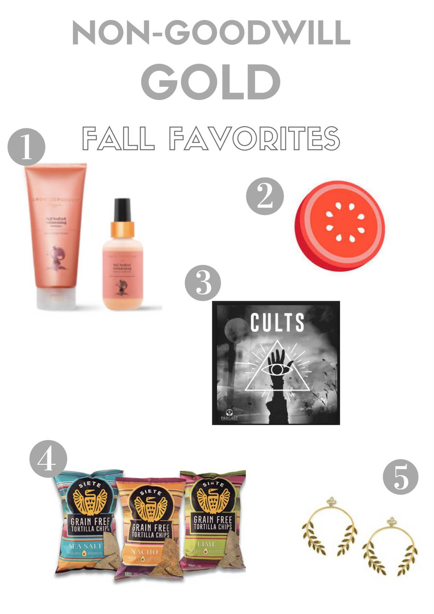 Non-Goodwill Gold: Fall Favorites
