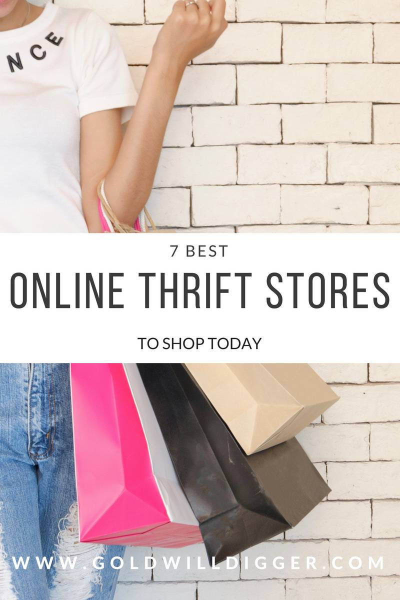7 Online Thrift Stores To Shop Today Goldwill Digger