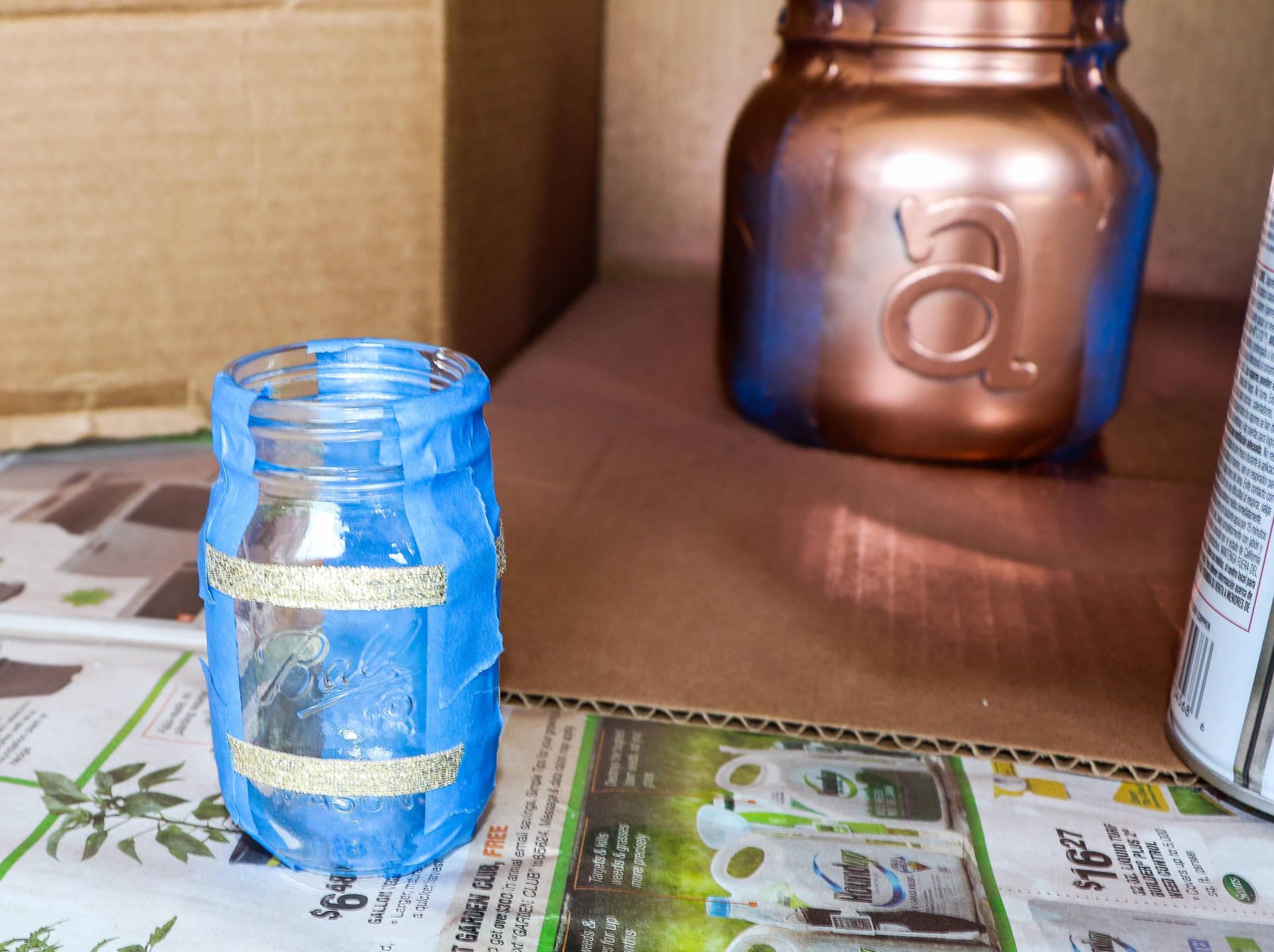 Diy Ball 174 Mason Jar Flower Arrangement Goldwill Digger