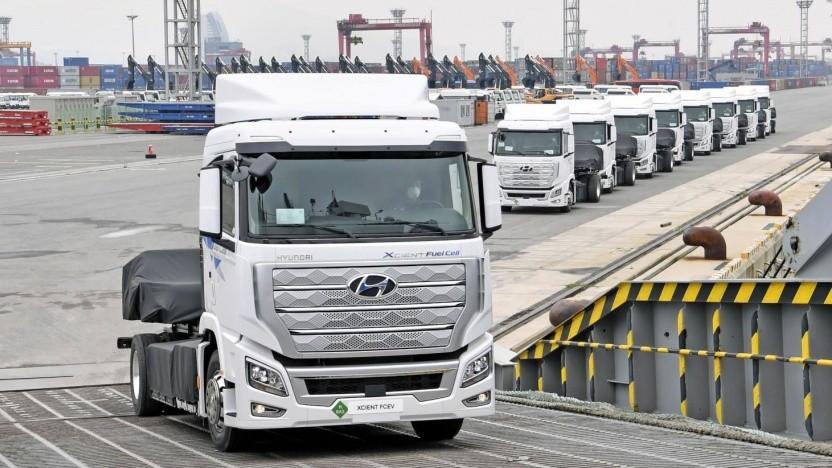 Hyundai bringt erste Brennstoffzellen-Lkw in die Schweiz