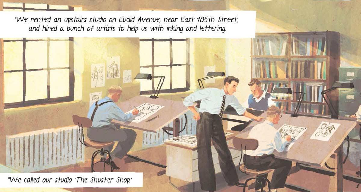 """Résultat de recherche d'images pour """"joe shuster campi"""""""