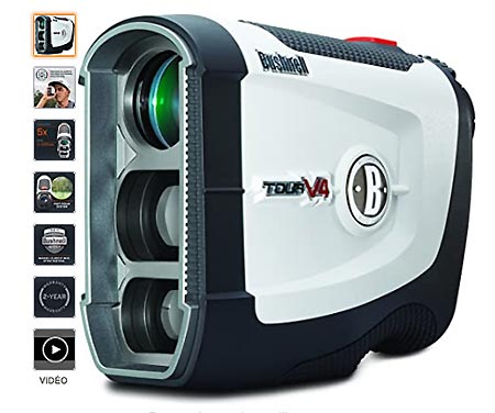 Bushnell Tour V4 Tests de télémètre laser de golf
