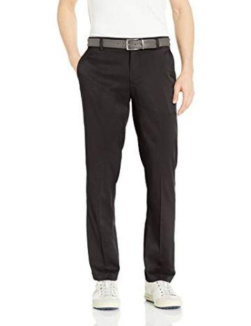 Amazon Essentials Straight-Fit Stretch golf-pants, Black, 30W x 32L - 1