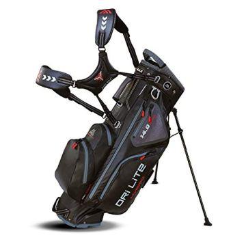Big Max Dri Lite HYBRID Golf Cartbag & Standbag - Wasserabweisend - 2019 - Black - 1