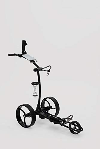 Leisure Golf Elektro Golftrolley Falcon Slim Line (Schwarz) - 1