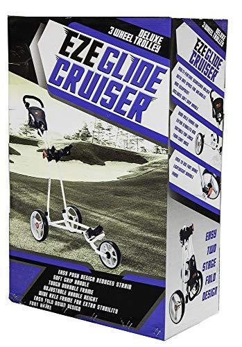 Longridge Uni Golf Trolley Eze Glide Cruiser, Schwarz - 3