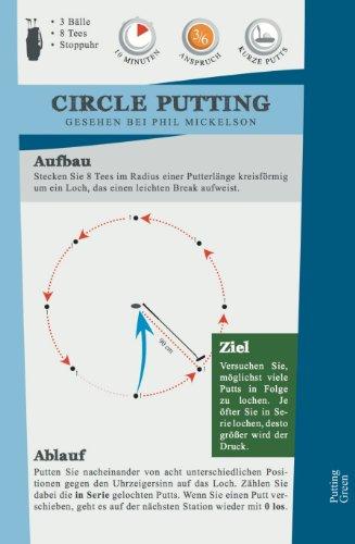 Mein Golf Training: 30 Übungen für ein effektives Training | Booklet mit Drills für das Golf-Bag - 6