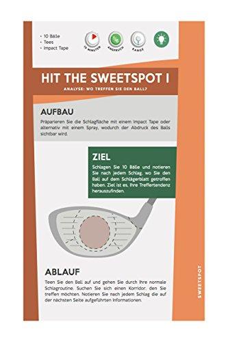 Mein Golf Training: Besser Driven - 18 Übungen für den Abschlag | Booklet für das Golf-Bag - 5