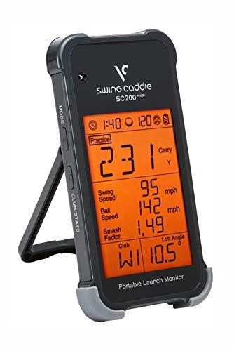 Voice Caddie SC200+ Launch-Monitor Swing-Analyse, Unisex, Schwarz, Einheitsgröße - 3