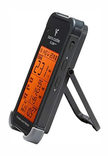 Voice Caddie SC200+ Launch-Monitor Swing-Analyse, Unisex, Schwarz, Einheitsgröße - 9