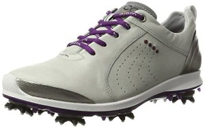 Ecco Women'S Biom G 2, Chaussures de Golf Femme, Grau (57693CONCRETE/Imperial Purple), 39 EU