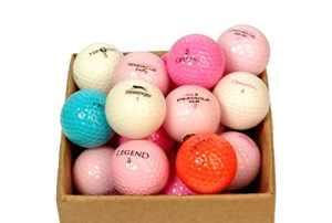 Replay Golf Elegance Lady Mix Balles de golf Carton