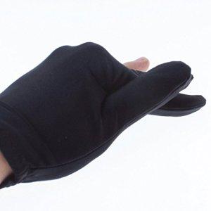 A-szcxtop: Tir à l'arc de Tir Gant, trois doigts Design Convient aux deux mains