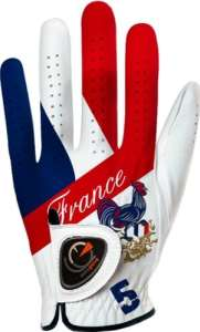 Easy Glove Flag_France Gant de golf Multicolore M