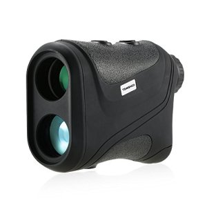 Tomshoo Télémètre Golf 600m Télémètre Laser Compact 6 x 22 Télémètre de Chasse Monoculaire Télescope Distance Testeur de vitesse