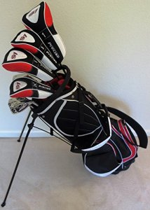 Homme Set de golf complet conçu sur mesure: pour homme 6'0cm-6' 15,2cm de haut la main droite Regular Flex