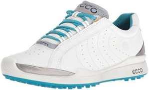 Ecco Womens Biom Hybrid, Chaussures de Golf Femme, Weiß (59581WHITE/Capri Breeze), 39 EU