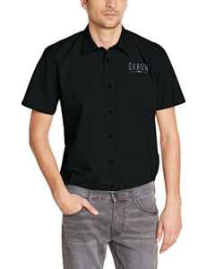 Oxbow Ericha Chemise manches courtes Homme Noir FR : L (Taille Fabricant : L)